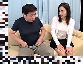 first time japanese creampie